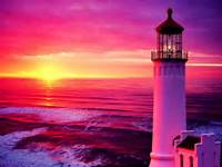 Lighthouse At Sunset Related Keywords &amp Suggestions