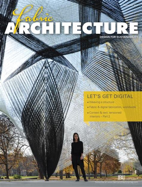 Architecture Trade Magazines Fabric Architecture Magazine Back Issues Industrial