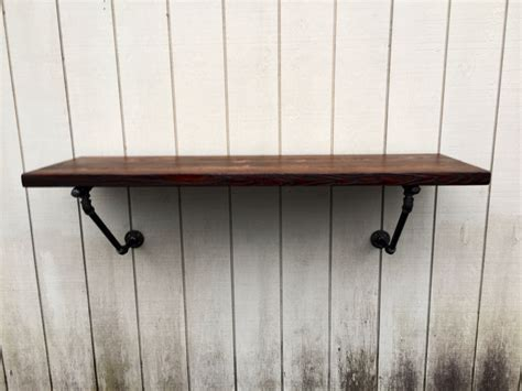 Floating Bar Table The Lodge Mantel Wall Mounted Bar Table Shelf Reclaimed Wood