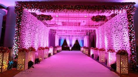 Wedding Reception Entrance Decorations: Entrance