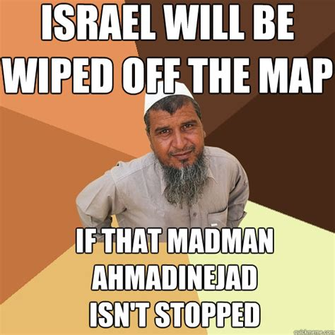 ahmadinejad israel quotes wiped off the map