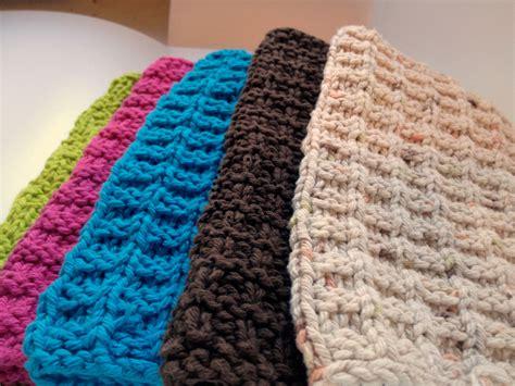 cotton knit dishcloths dish cloths west coast knitter