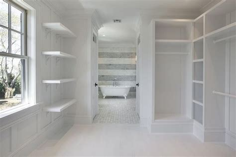 corcoran master bedroom walk through closet with custom
