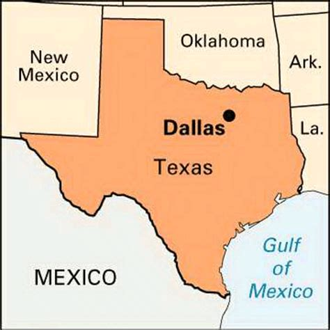 texas map dallas texas dallas encyclopedia children s homework help dictionary britannica