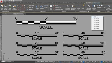 autocad tutorial how to scale autocad tutorials gt creating dynamic blocks for site
