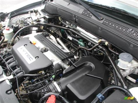 2004 honda crv engine specs 2004 honda cr v ex 4wd 2 4 liter dohc 16 valve i vtec 4