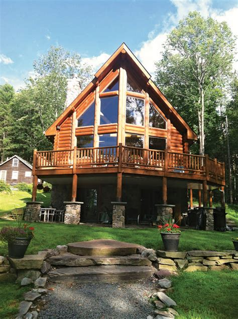 Cottages In Poconos by A Log Cabin In The Poconos