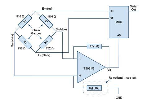 wheatstone bridge sensor interface random tech stuff computer interface to a low cost electronic kitchen scale part 1