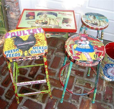 Vintage Decoupage Ideas - 210 best crafts school auction projects images on