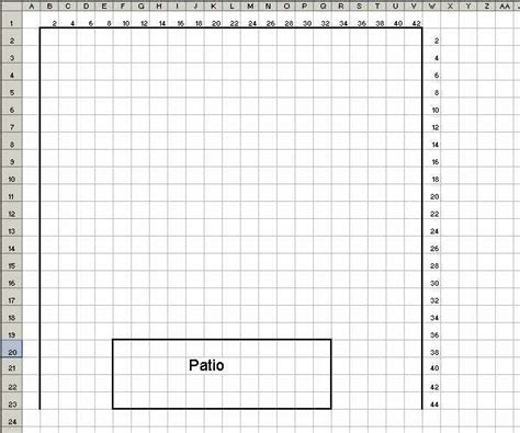 Make Graph Paper In Excel - turn an excel sheet into graph paper techrepublic