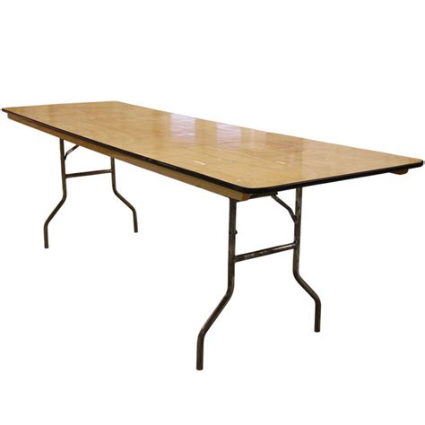 8 Wood Banquet Table 30 Quot X 96 Quot