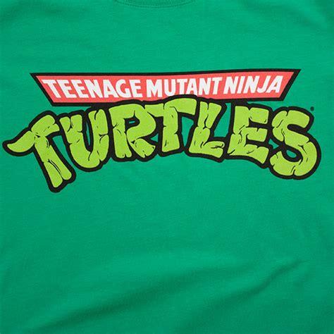 Logo Pop Green mutant turtles s t shirt