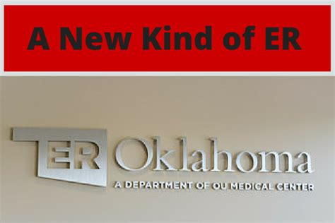 Ou Emergency Room by A New Of Er Er Oklahoma