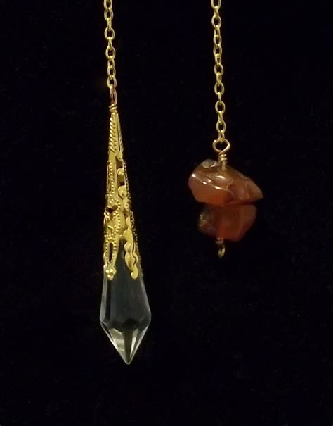 Handmade Wiccan Jewelry - buy a made handmade wiccan pagan scrying pendulum