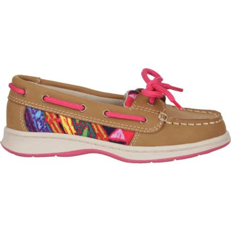 girls boat shoes austin trading co girls leather boat shoes academy