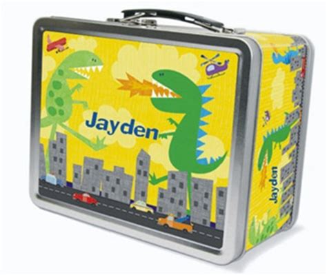 Lunch Box Saten Custom 2 personalized lunch boxes