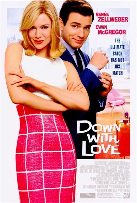 comedy romance film imdb down with love movie posters from movie poster shop
