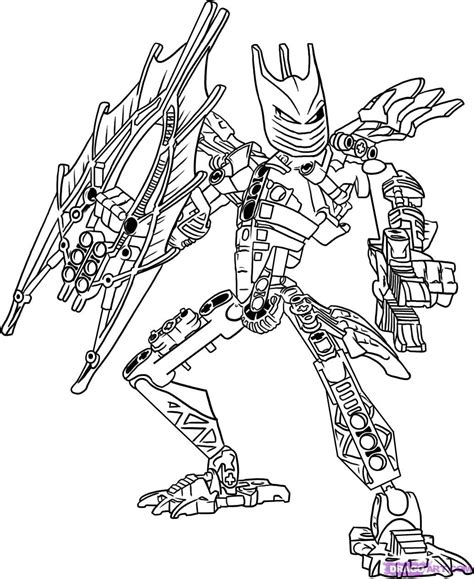 Coloring Page Lego Bionicle | bionicle coloring pages coloring home