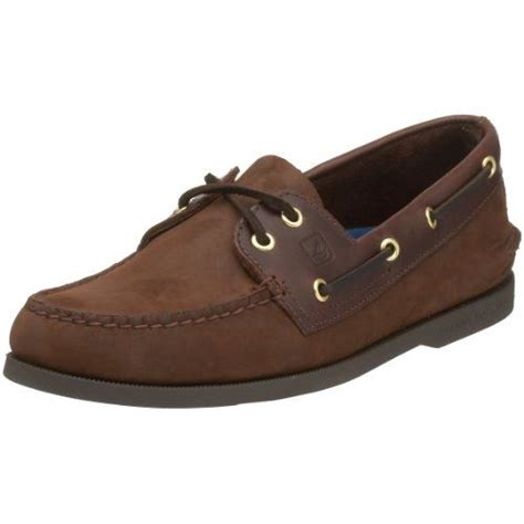 sperry top sider s brown buc brown authentic original