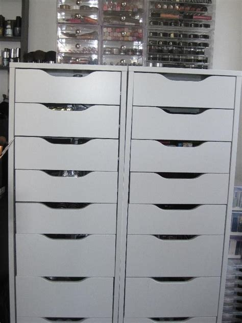 ikea makeup storage 129 best images about make up storage on pinterest
