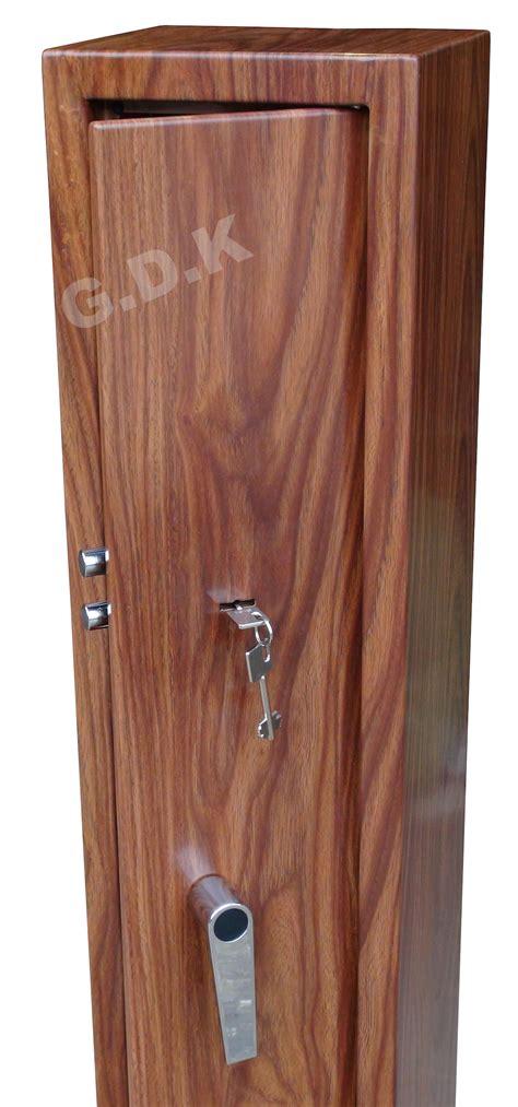3 gun cabinet wood effect clay pigeon traps gun