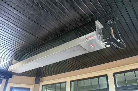 ceiling patio heater commercial heaters overhead wall mounted heaters