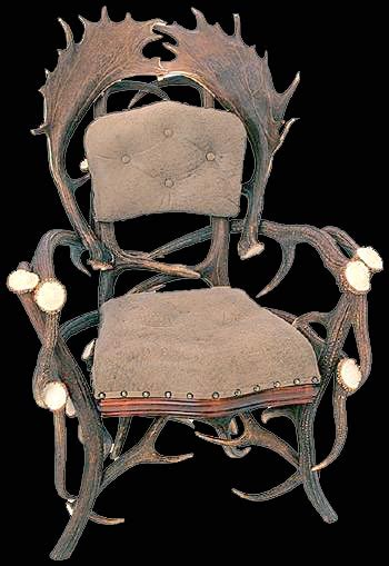 Deer Antler Chair by Elen Importing Inc Antler Chairs Made From