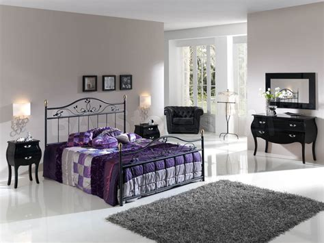 wrought iron bedroom ideas black polished wrought iron leirvik bed frame mixed rectangle gray fur rug of amazing