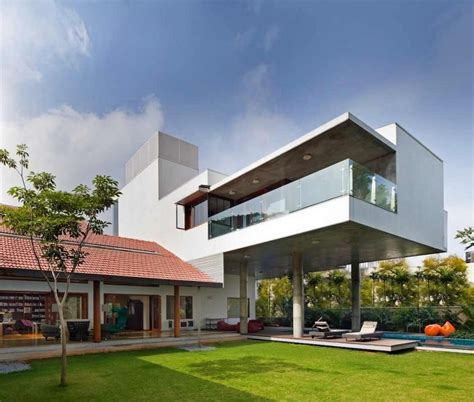 contemporist contemporary modern architecture furniture imposing library house in india evoking bangalore s