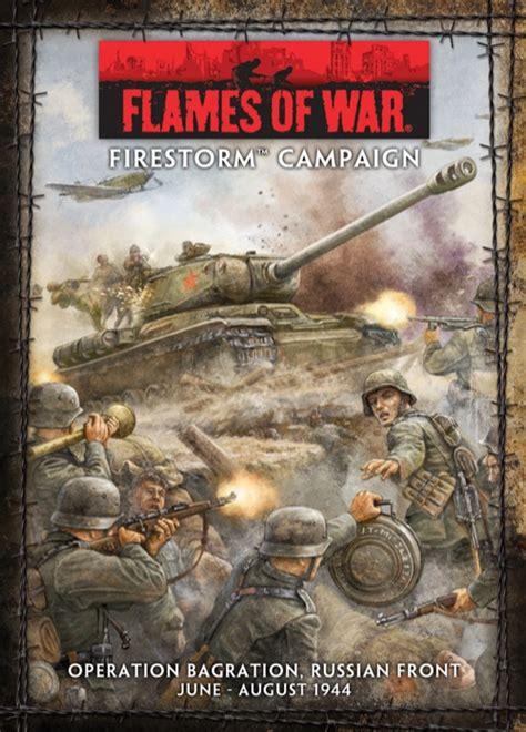 paizocom flames  war operation bagration firestorm