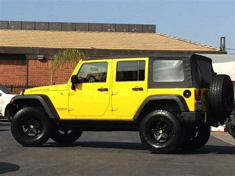 Jeep Burbank 2008 Jeep Wrangler Unlimited Rubicon For Sale In Burbank Ca