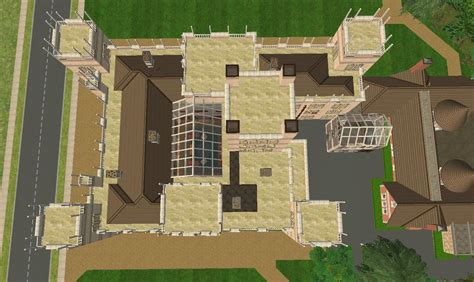 downton abbey castle floor plan mod the sims downton abbey highclere castle no cc
