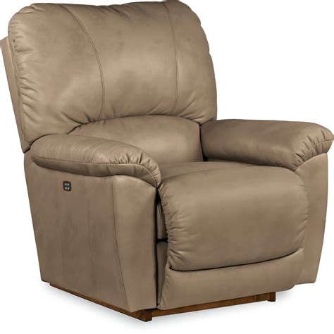 la z boy recliner la z boy tyler power rocker recliner putty