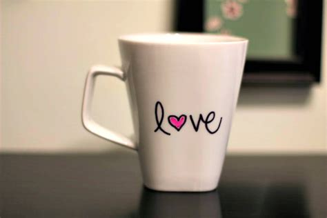 mug design for lovers the proven way to make your sharpie mug design stick