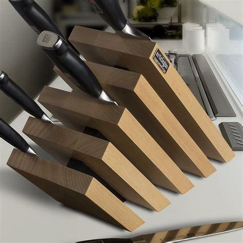 cool knife block artelegno magnetic knife block 187 petagadget