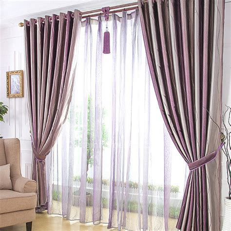 dark purple blackout curtains appealing living room or bedroom suitable line shapes