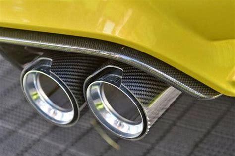 Ferrari 3 Endrohre by Endrohre Carbon Bmw M4 F82 F83 M3 F80