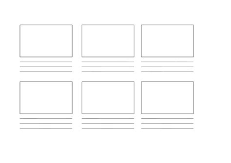 Blank Storyboard Template by Blank Storyboard Template Free