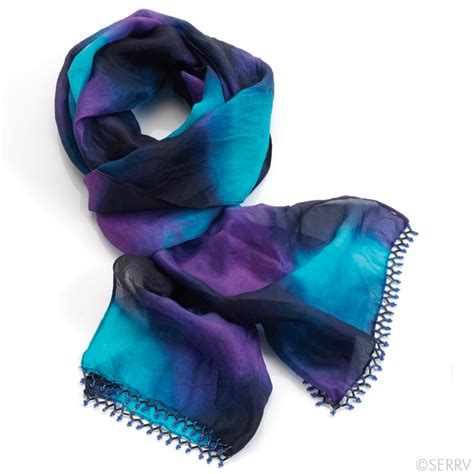 beaded scarfs waterfall beaded scarf