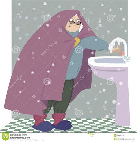 casa fredda casa fredda illustrazione vettoriale illustrazione di