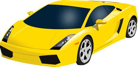 yellow lamborghini png file yellow gallardo svg wikimedia commons