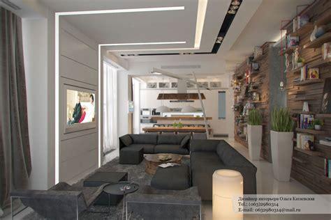studio living room ideas studio apartment architected by ola kataevskaj