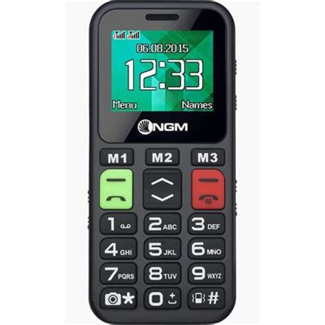 www ngm mobile ngm mobile facile ciao 1 8 quot nero cellulari e easyphone