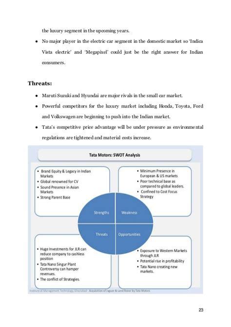 Mba Marketing In Tata Motors by Marketing Strategies Of Tata Motors