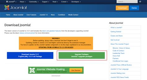 manual update joomla 2 5 to 3 manual joomla update joomla 3 x how to update the engine