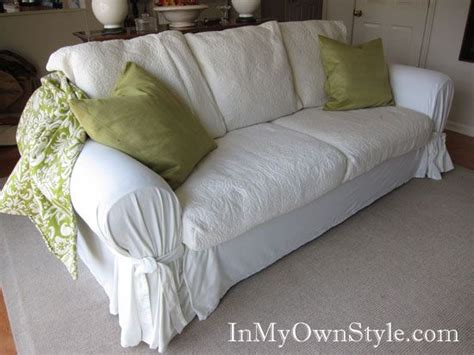 ugly sofa slipcovers decor hacks sofa slipcover from ugly so decor