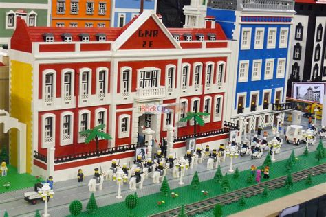 How To Build A Victorian House Lego Fan Event 2012 In Lisbon Part 6 Buildings And