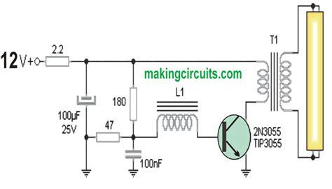 Lu Emergency 40 Watt 20 watt 5 watt fluorescent l inverter circuit