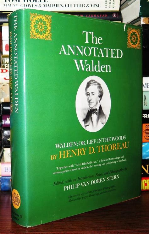 walden annotated book book cellar out of print books