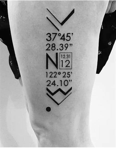 latitude and longitude tattoo best 20 ohio ideas on ohio state
